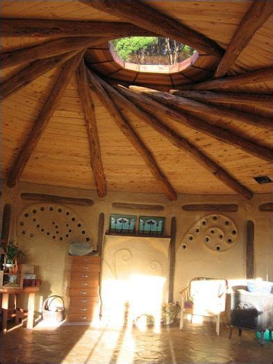 reciprocal roof roundhouse  house natural building