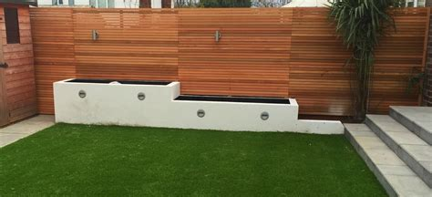 contemporary fence contemporary fencing liverpool abel landscaping