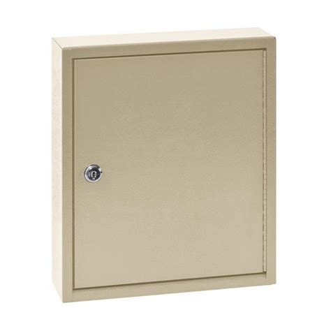key cabinet home depot buddy products 60 key cabinet in beige 0160 6 the home depot