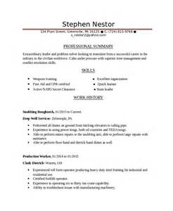 infantryman resume template 7 free word pdf document