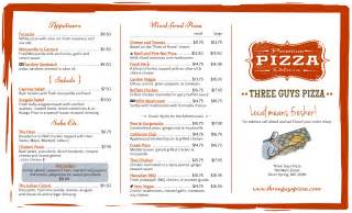 tri fold menu template free tri fold menu template