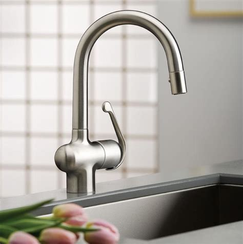 Grohe Kitchen Faucet Ladylux Grohe 32256sd0 Ladylux Pro Pull Spray Kitchen Faucet Touch On Kitchen Sink Faucets