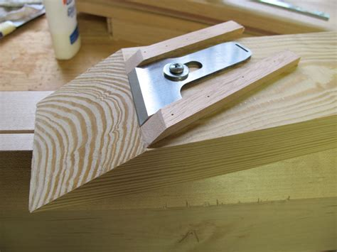 correct  skew   plane blade  chisel
