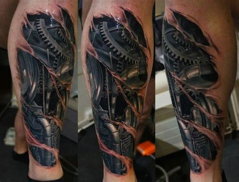 arm tattoo sleeves biomechanical sleeve tattoos tattoofanblog