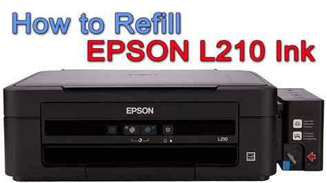 how can reset epson l210 printer how to refill epson l210 printer ink youtube