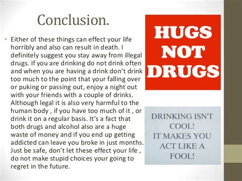 Essay Drugs Conclusion by Drugs And Reflection By Daniel Martelll