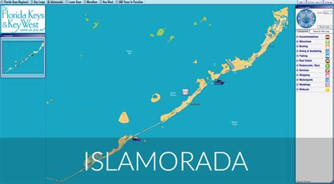 islamorada map the official tourism council web site for the florida