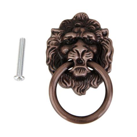 lion head cabinet pulls lion pull knobs handles dresser drop pulls rings