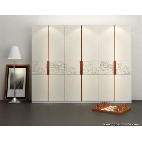 bedroom furniture item  modern white hinged wardrobe