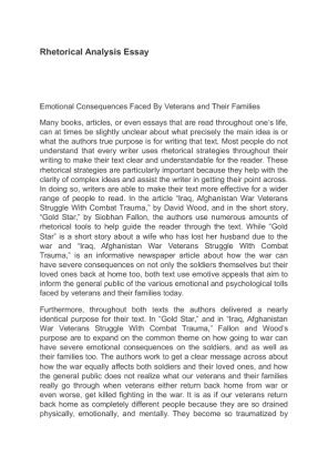 Sles Of Rhetorical Analysis Essays by No Plagiarism Guarantee Best Essay Services Cheap Mba Rhetorical Analysis Essay Exles 7
