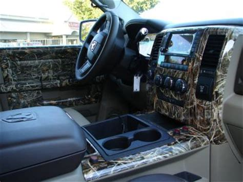 realtree camo truck interior