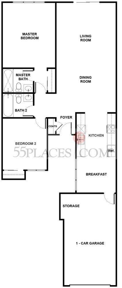 leisure village camarillo floor plans capri floorplan 1064 sq ft leisure village