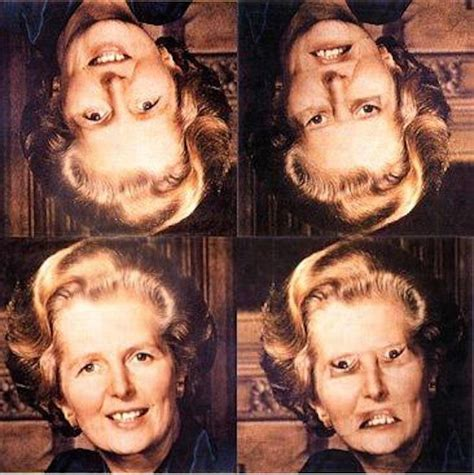change mouth eyes hairstyle effect adele s upside down face is creepy because of the thatcher