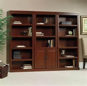 sauder heritage hill outlet 2 door bookcase 71 1 4 h x deck slope hill level home design ideas pictures remodel