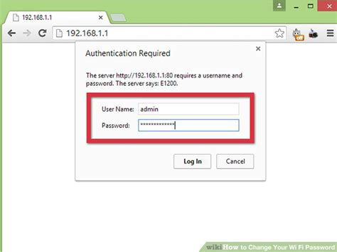 How To Change Wifi Password Admin
