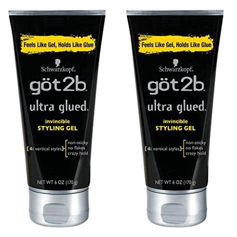 styling gel got2b got2b ultra glued invincible styling hair gel 6 ounces