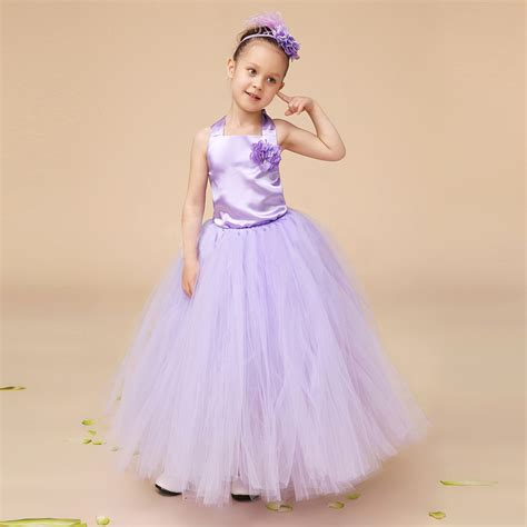 Princes Gown Tutu Dress Baby 8 Thn Code A3 children flower gown mesh princess bandage tutu dresses baby wedding
