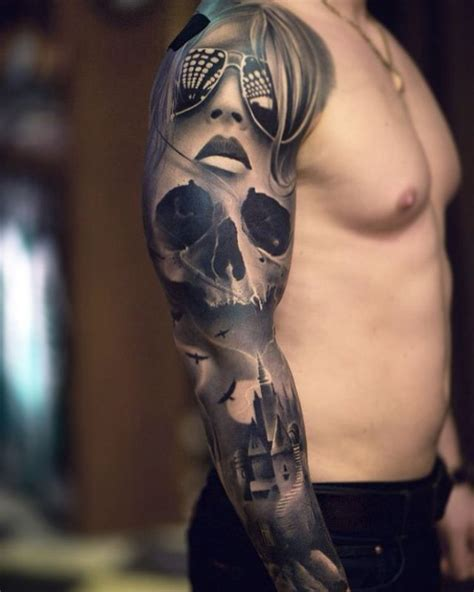 tattoo black and grey black and grey sleeve tattoos www pixshark images