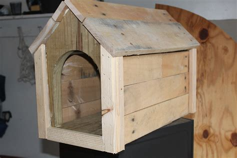 dog house mailbox pallet box for dog or mailbox pallet hackers