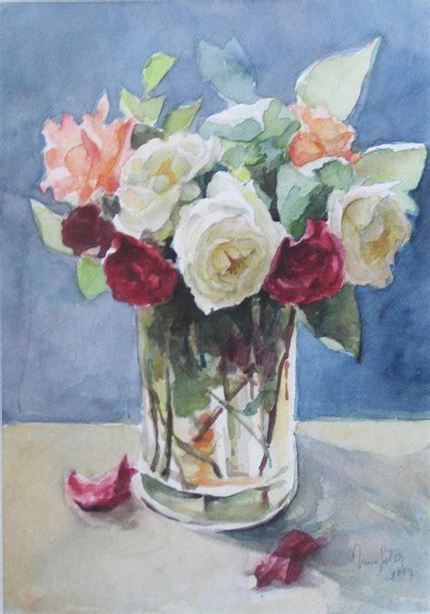 floreros s a florero con rosas inma soler artelista