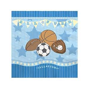 All Sports Baby Shower by All Sports Baby Shower Decorations Theme