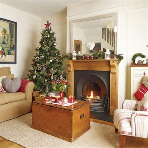 country christmas living room with scandi style theme country christmas living room ideas