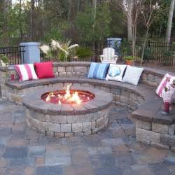 Fire Pit Patio Ideas by 25 Best Ideas About Stamped Concrete Patios On Pinterest