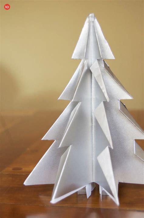 17 best ideas about paper christmas trees on pinterest