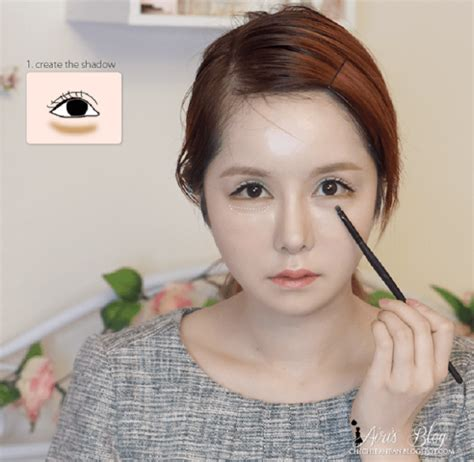 Eyeshadow Dibawah Mata membuat ilusi mata tersenyum dengan 6 langkah tutorial