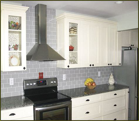 light gray backsplash light grey glass subway tile backsplash global business