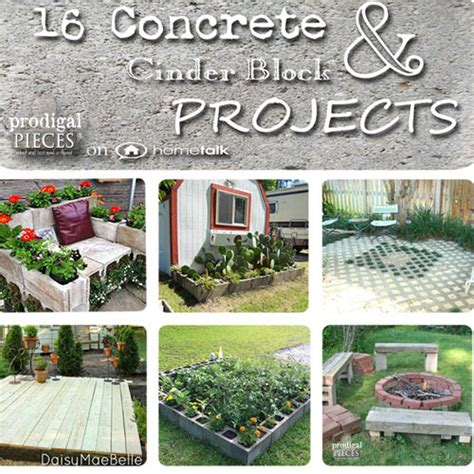 concrete cinder block projects on hometalk prodigal pieces