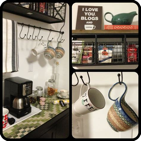 coffee kitchen decor ideas home coffee station ideas