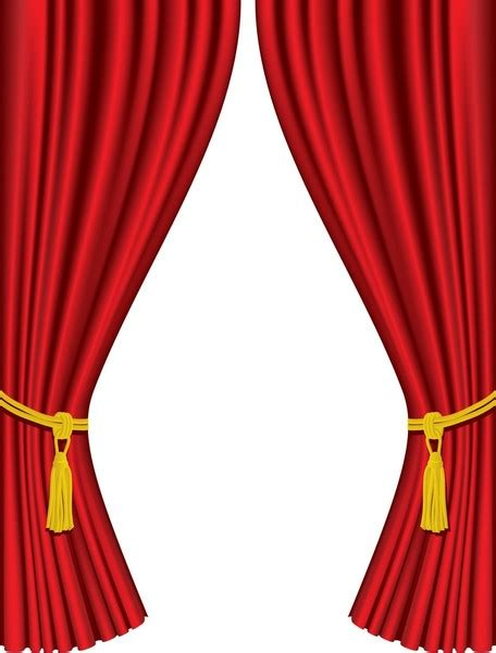 red curtain clipart curtain call clip art 26