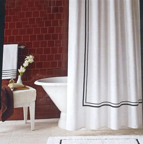 white shower curtain with black border white shower curtain with black border home design ideas