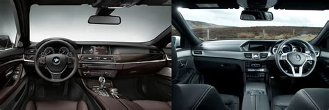Bmw Vs Mercedes Interior by Mercedes E Class Estate Vs Bmw 5 Series Touring Large