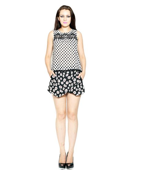 Poka Tunik polka lace tunic buy polka lace tunic at best prices in india on snapdeal