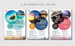 10 gorgeous travel agency flyer templates to grow your