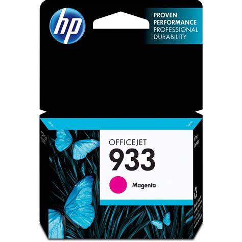Hewlett Packard Ink 742 M hp 933 magenta officejet ink cartridge cn059an b h photo