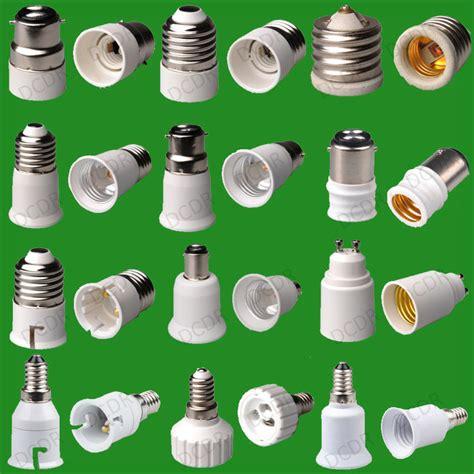 Fitting Sambung E27 Standart To E40 Besar Base For Led Or Neon Ls 55 types of light socket adaptor base converter extender l holder bc es gu10 ebay