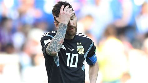 messi world cup 2018 soccer iceland deny argentina