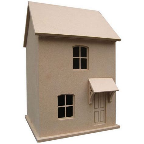 1 24 scale dolls houses small victorian style dolls house unpainted kit 1 24 scale dhw57