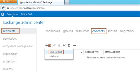 Office 365 Mail Forwarding Without Mailbox Setup Email Forwarding In Exchange 2013 Mailbox