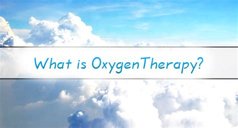 what is oxygen therapy exceptional health magazine