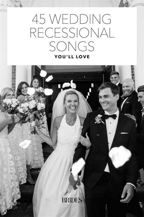 Wedding Ceremony Recessional by Best 25 Wedding Recessional Songs Ideas On