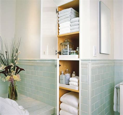 Bathroom Built In Storage Ideas by Five Great Bathroom Storage Solutions