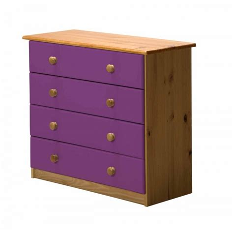4 Chest Of Drawers by Verona Solid Pine Chest Of Drawer With 4 Drawers