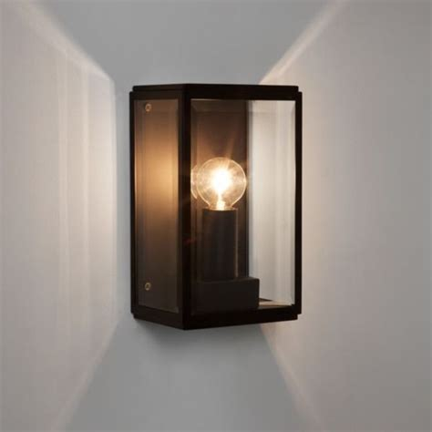 7590 Astro Homefield 130 Black Outdoor Wall Lighting Outdoor Lighting Centre