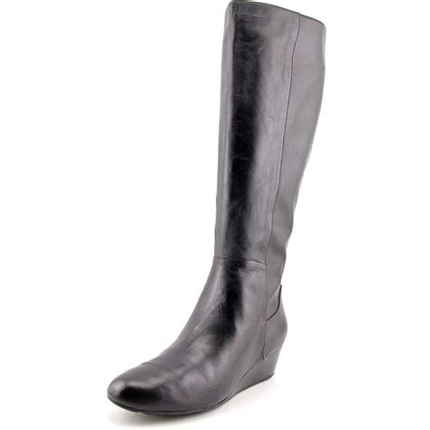 Boots Tali Black cole haan tali grand bt40 leather black knee
