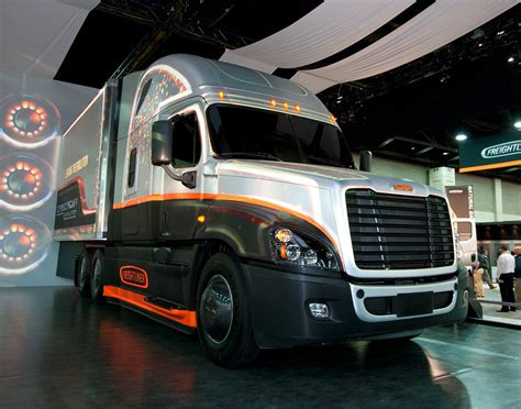 silver carbon freightliner pacific truck colors