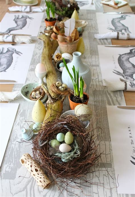 30 Decorating Ideas For Easter Dining Table Easter Dining Table Decorations